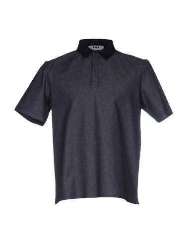 Джинсовая рубашка MSGM 38616252CC