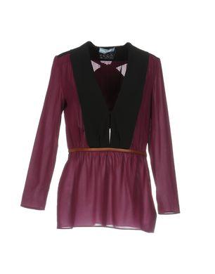 PRADA Damen Bluse Farbe Malve Größe 4 Sale Angebote Bagenz