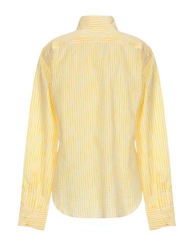 Фото 2 - Pубашка желтого цвета