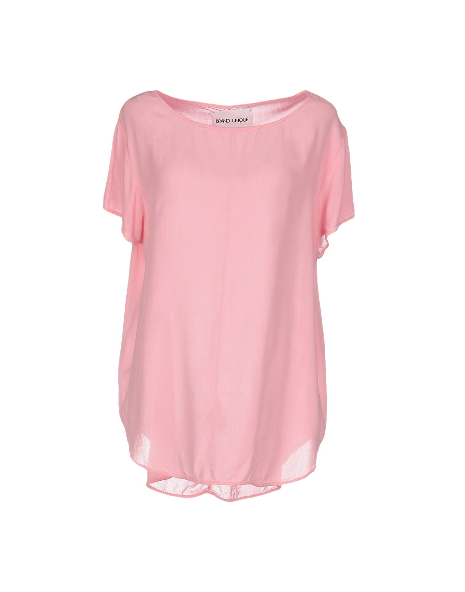 BRAND UNIQUE Блузка markus lupfer футболка с короткими рукавами