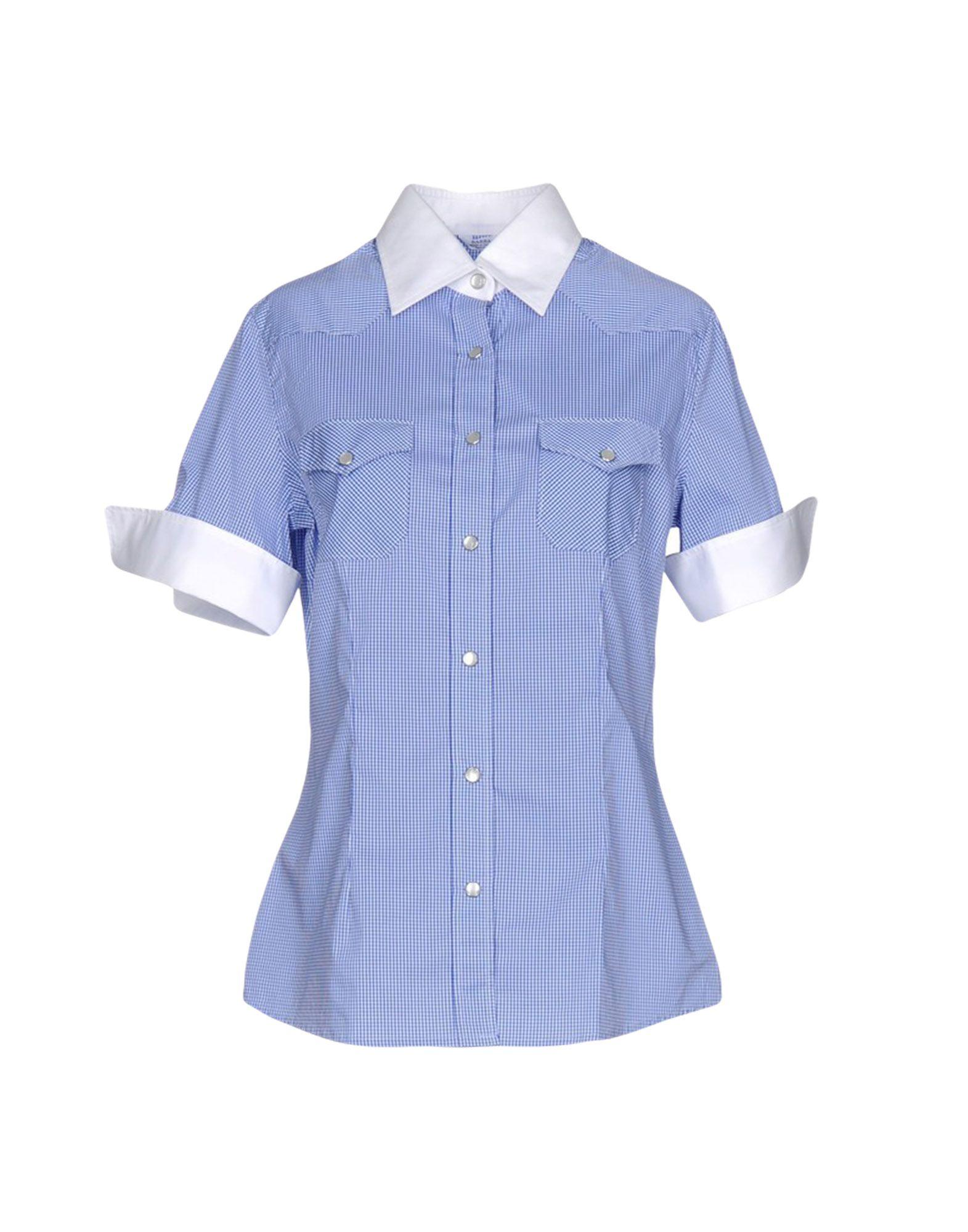 Barba Napoli Checked shirt