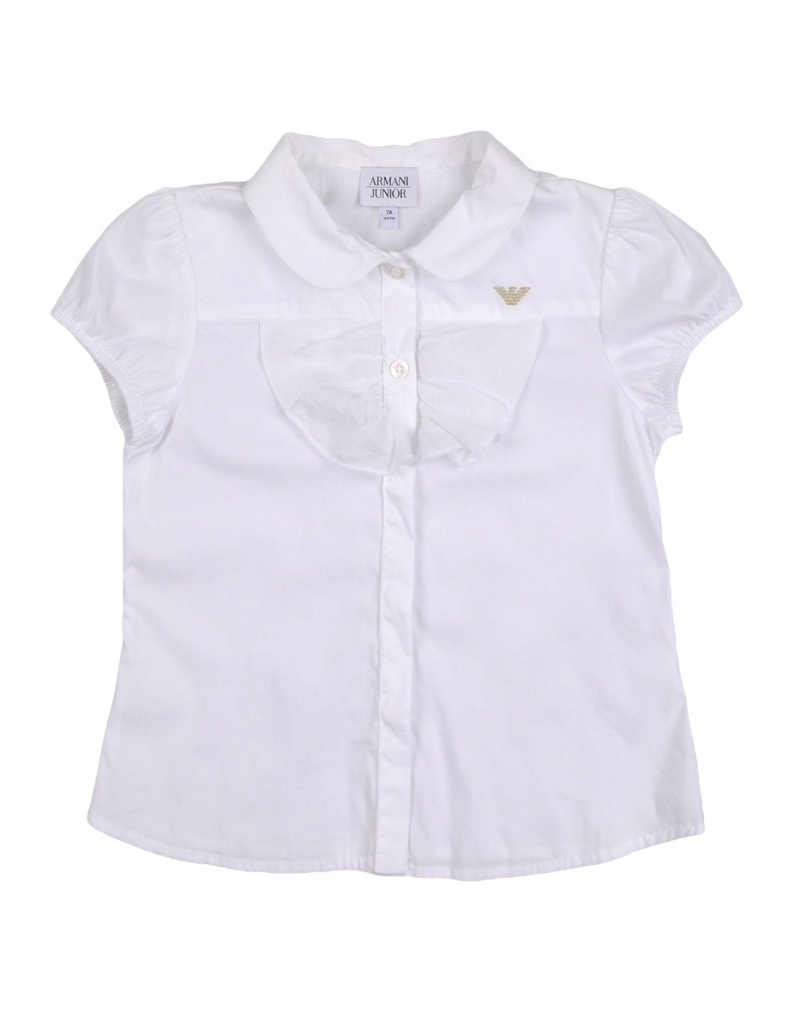 ARMANI JUNIOR シャツ ホワイト