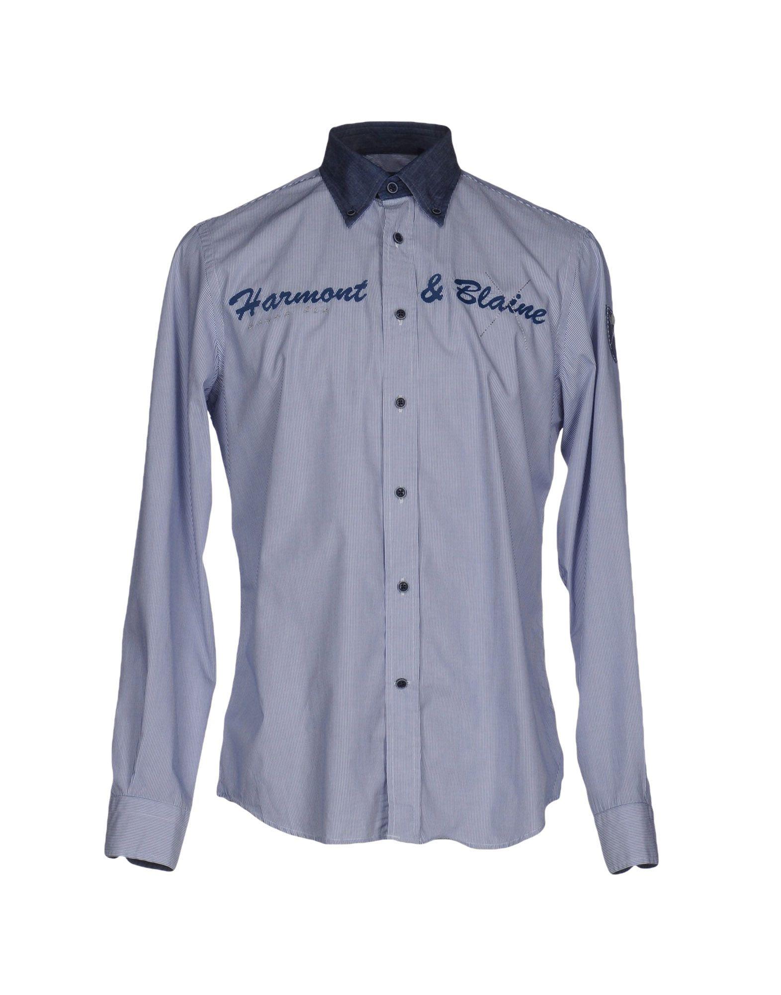 HARMONT&BLAINE Pубашка utah blaine