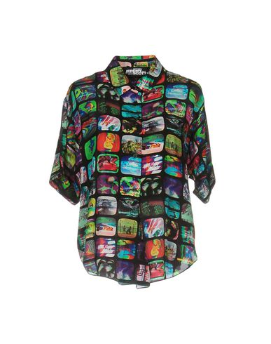 Image of JEREMY SCOTT SHIRTS Shirts Women on YOOX.COM