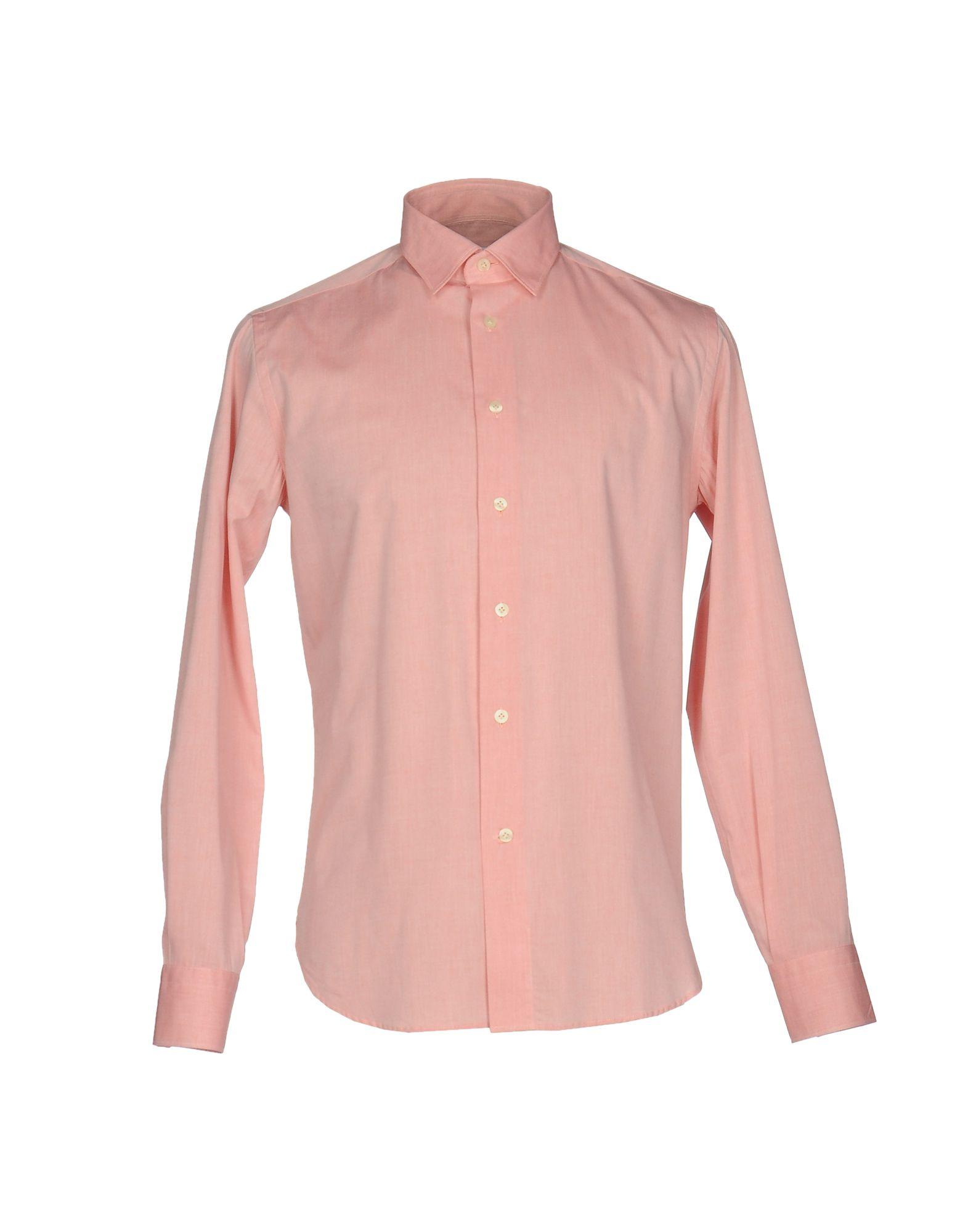BRANCACCIO C. Pубашка brancaccio c джинсовая рубашка