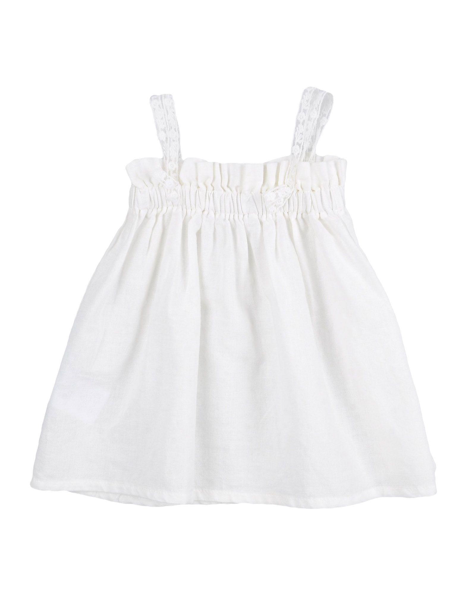 OPILILAI Mädchen 0-24 monate Kleid Farbe Beige Größe 4