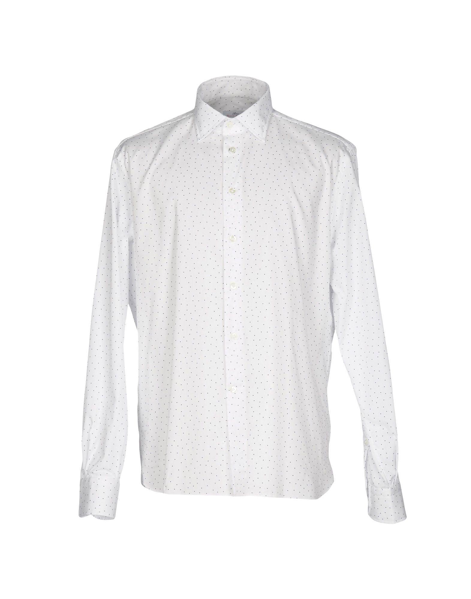 メンズ BRIO シャツ ホワイト
