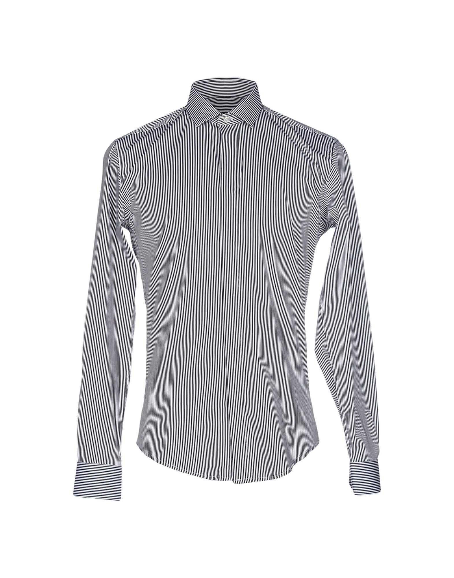 BRIAN DALES Herren Hemd Farbe Schwarz Größe 7 jetztbilligerkaufen