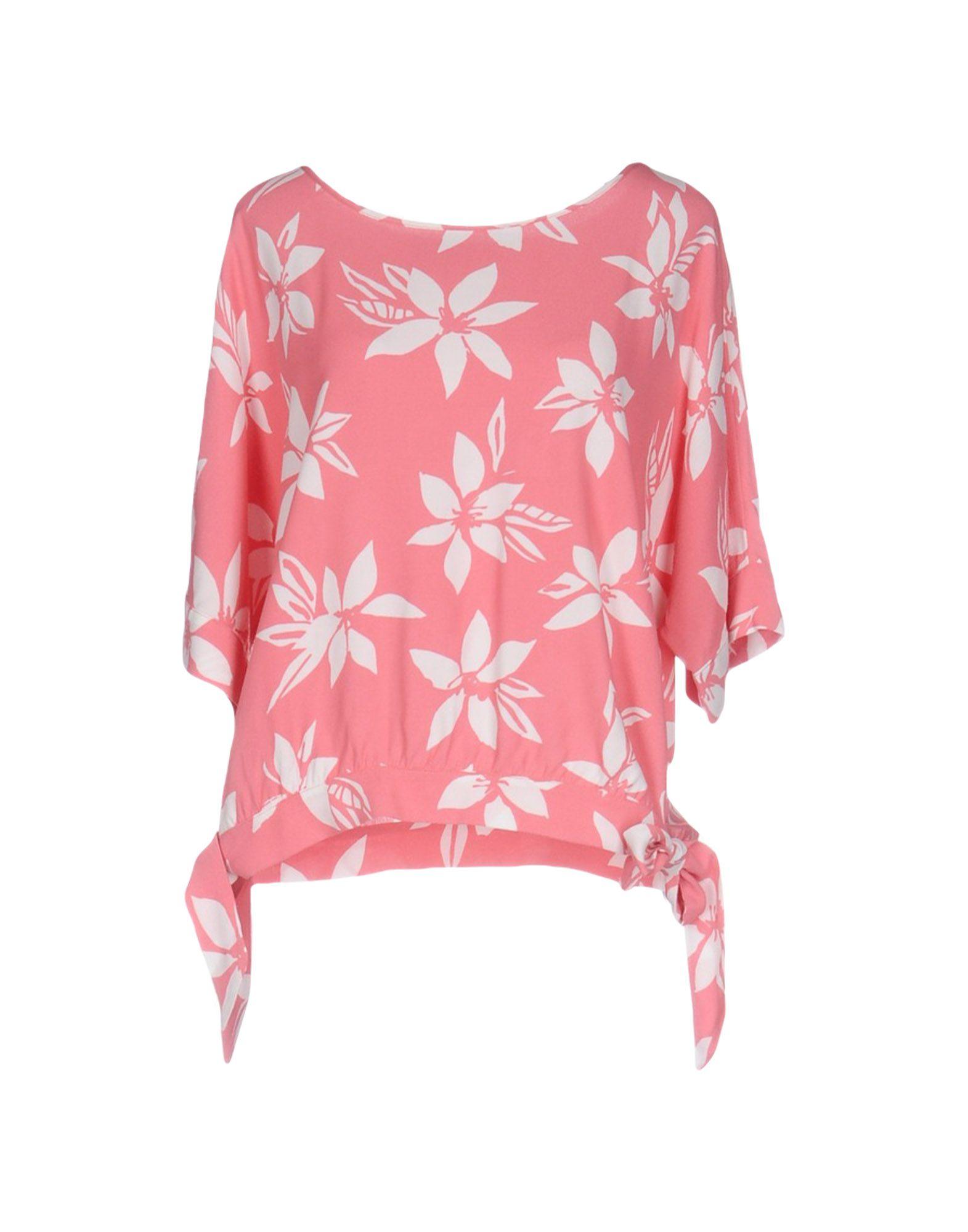 PAUL & JOE Damen Bluse Farbe Rosa Größe 4 jetztbilligerkaufen