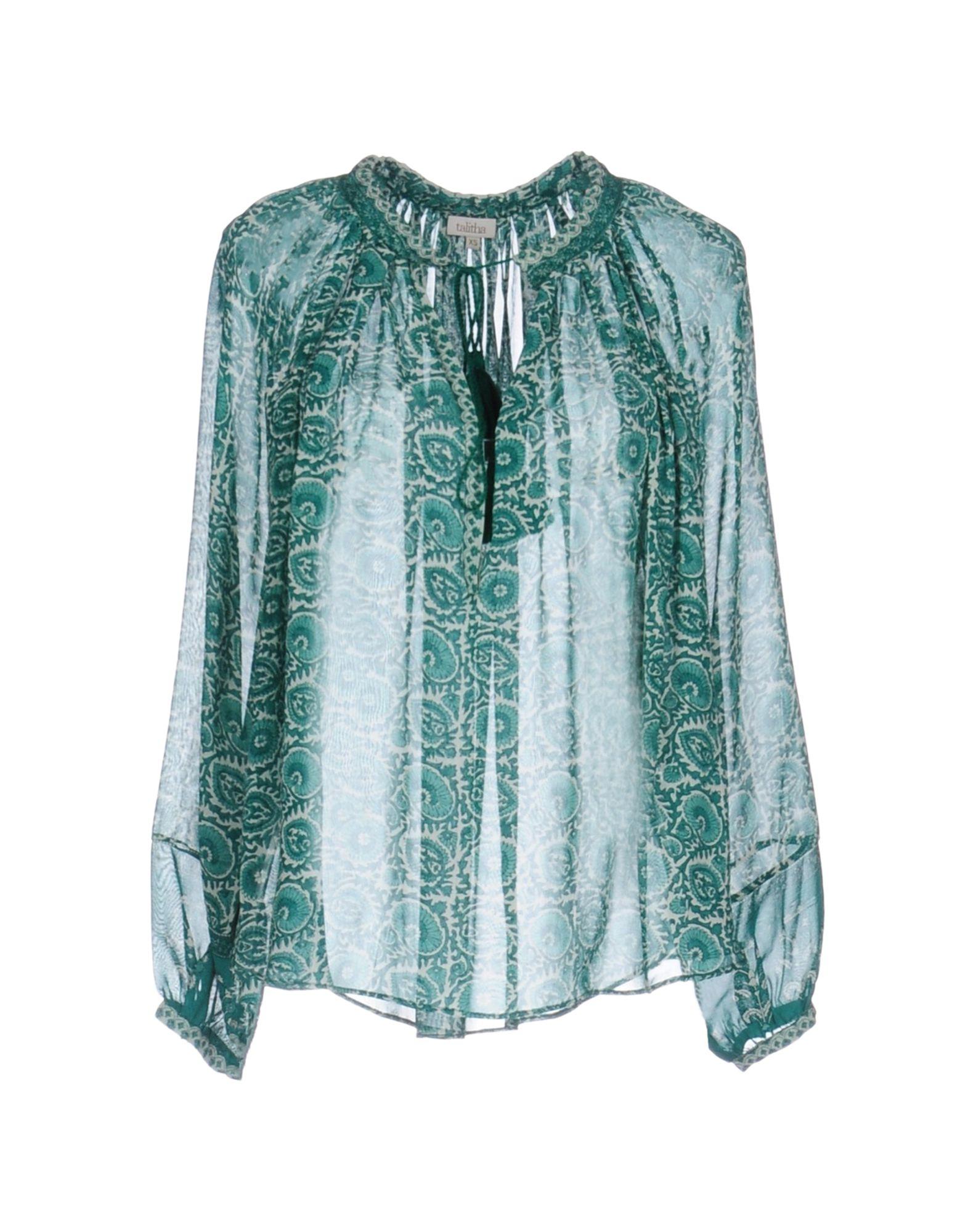 TALITHA Damen Bluse Farbe Grün Größe 7 jetztbilligerkaufen
