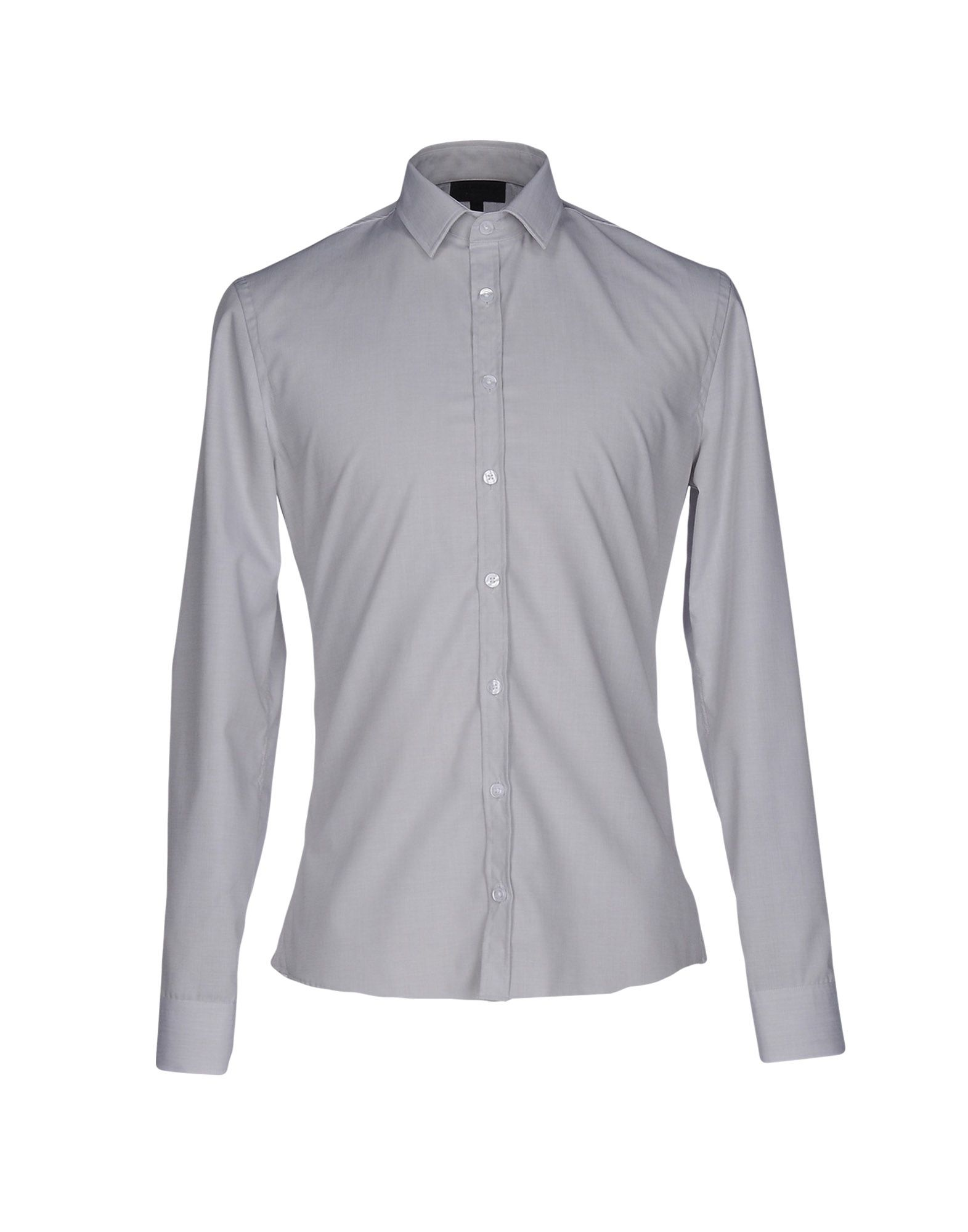 LES HOMMES Herren Hemd Farbe Hellgrau Größe 4 jetztbilligerkaufen