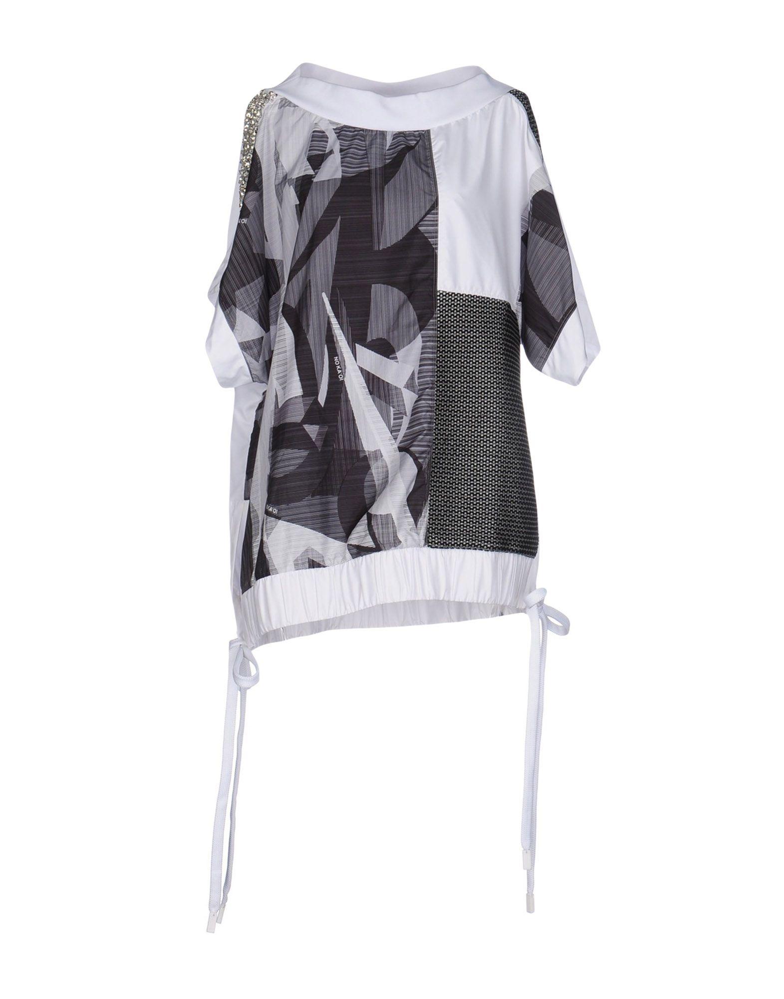 NO KA ´OI Damen Bluse Farbe Grau Größe 9 jetztbilligerkaufen