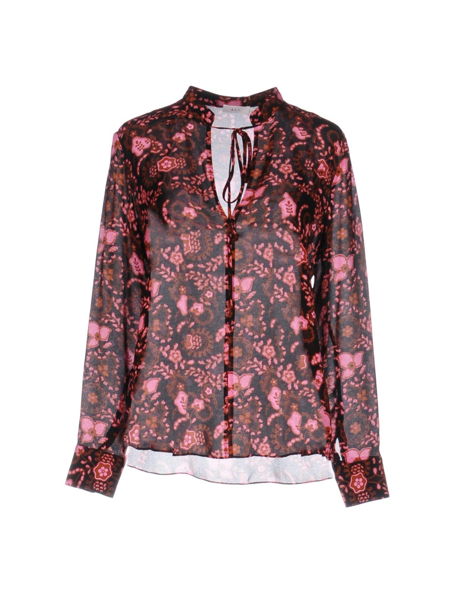A.L.C. Damen Bluse Farbe Schwarz Größe 3 jetztbilligerkaufen