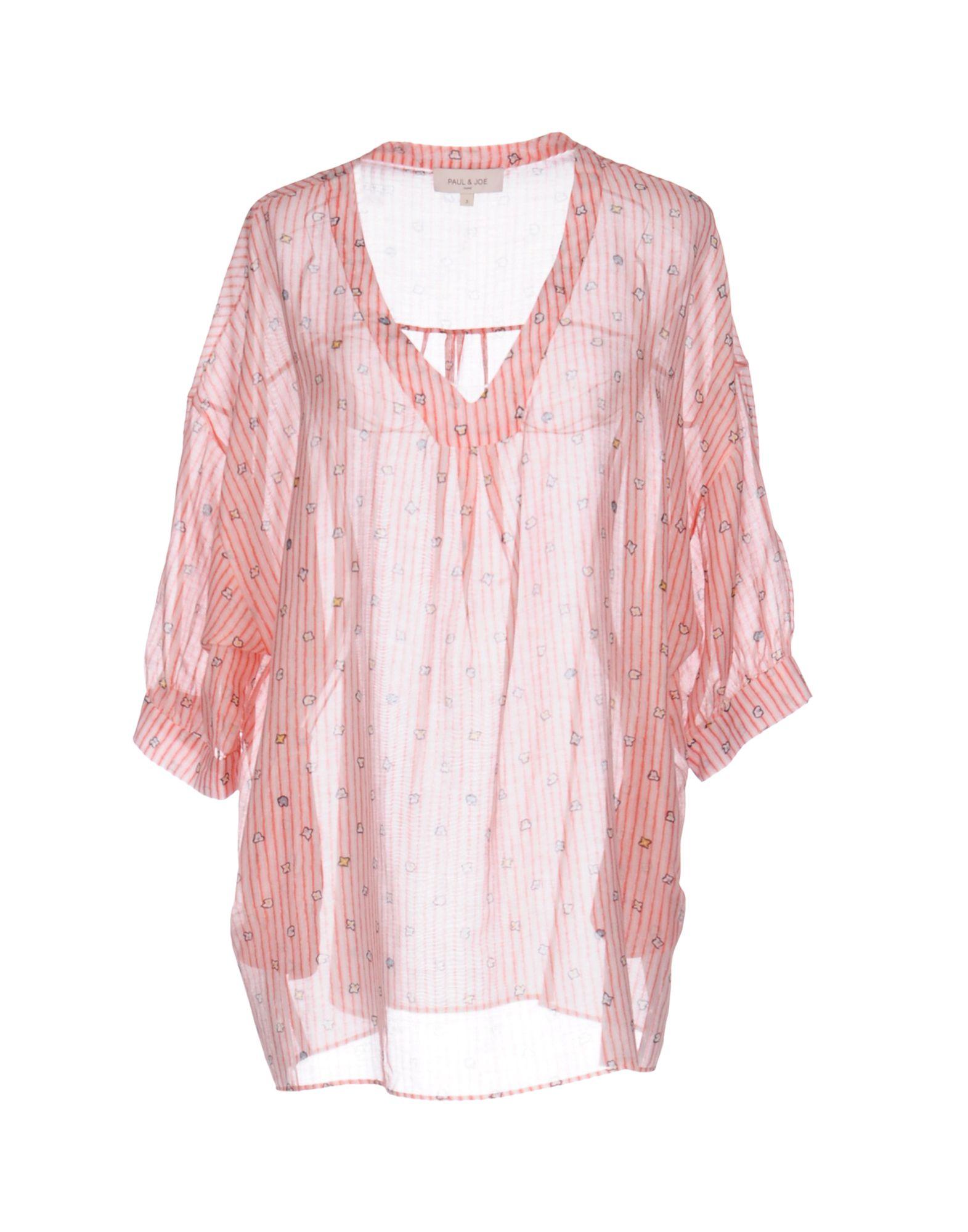 PAUL & JOE Damen Bluse Farbe Koralle Größe 5 jetztbilligerkaufen