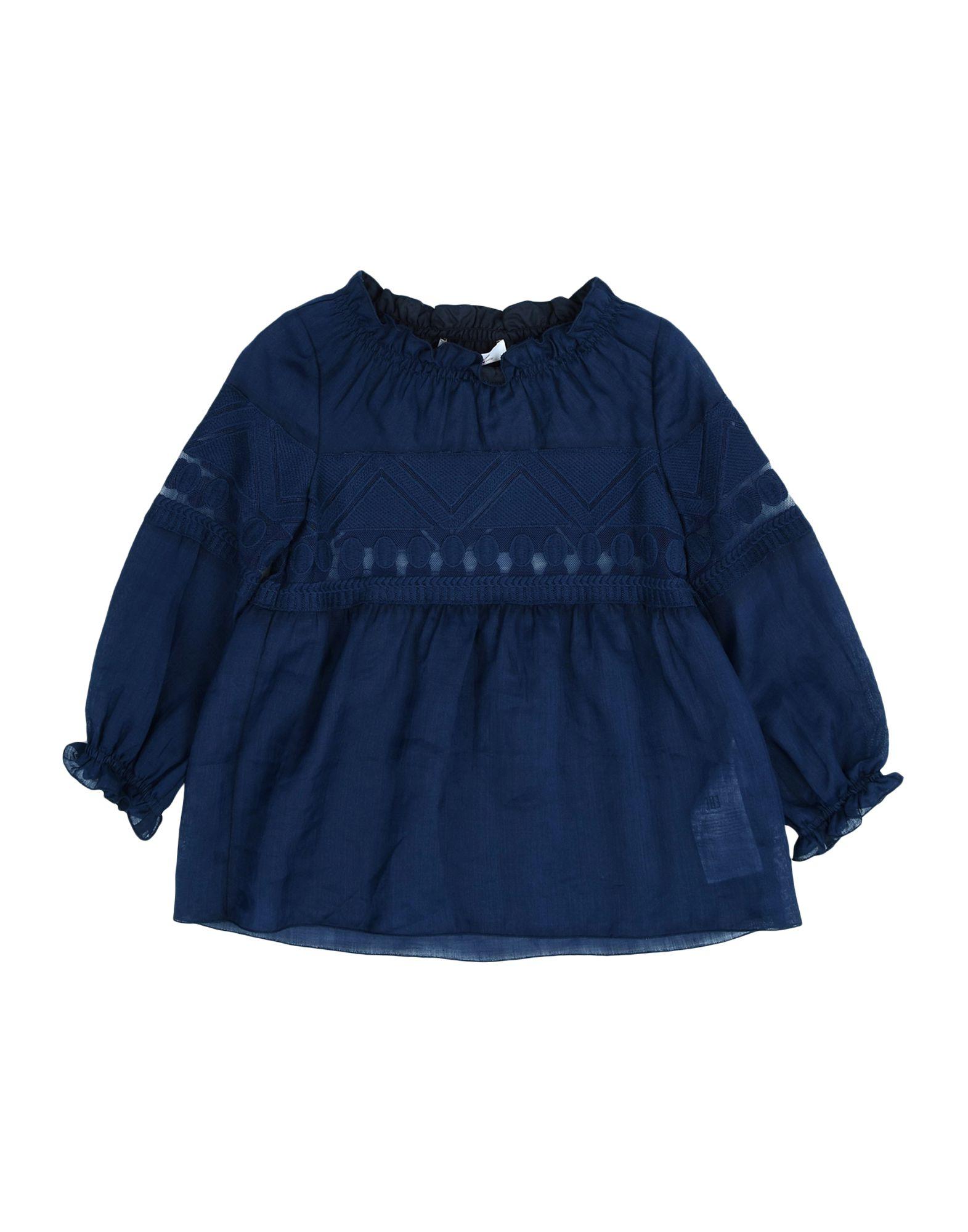 DONDUP DQUEEN Mädchen 3-8 jahre Bluse Farbe Blau Größe 6 jetztbilligerkaufen