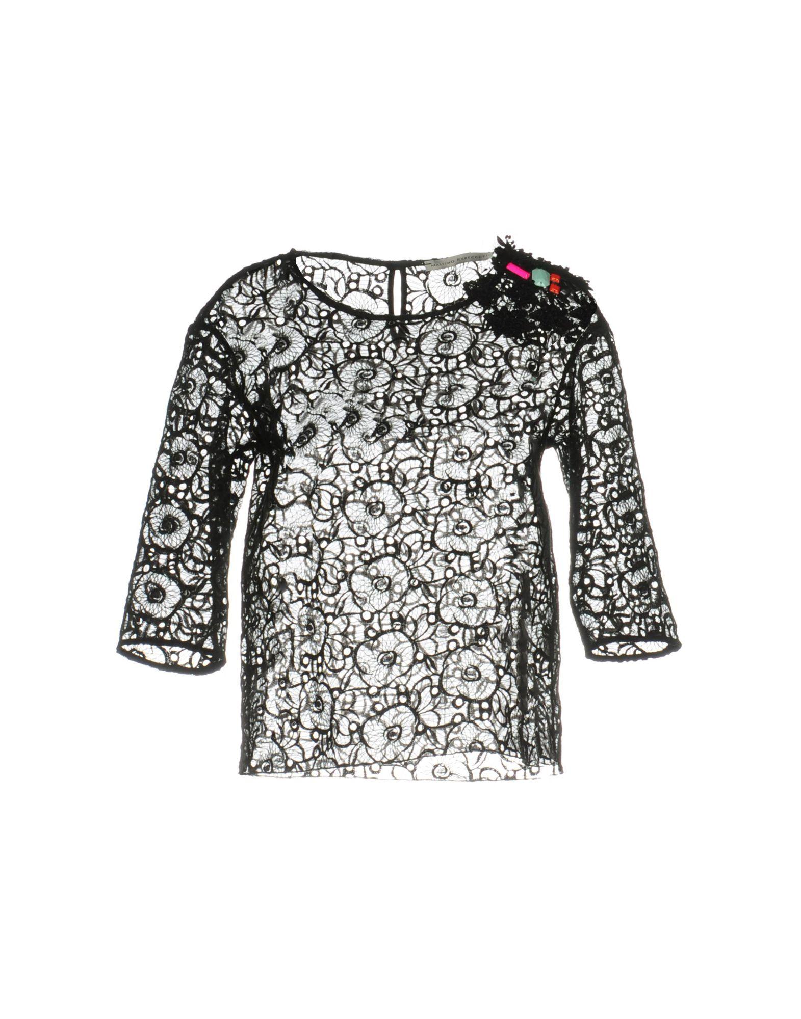 MASSIMO REBECCHI Блузка viamaggio massimo rebecchi платье длиной 3 4