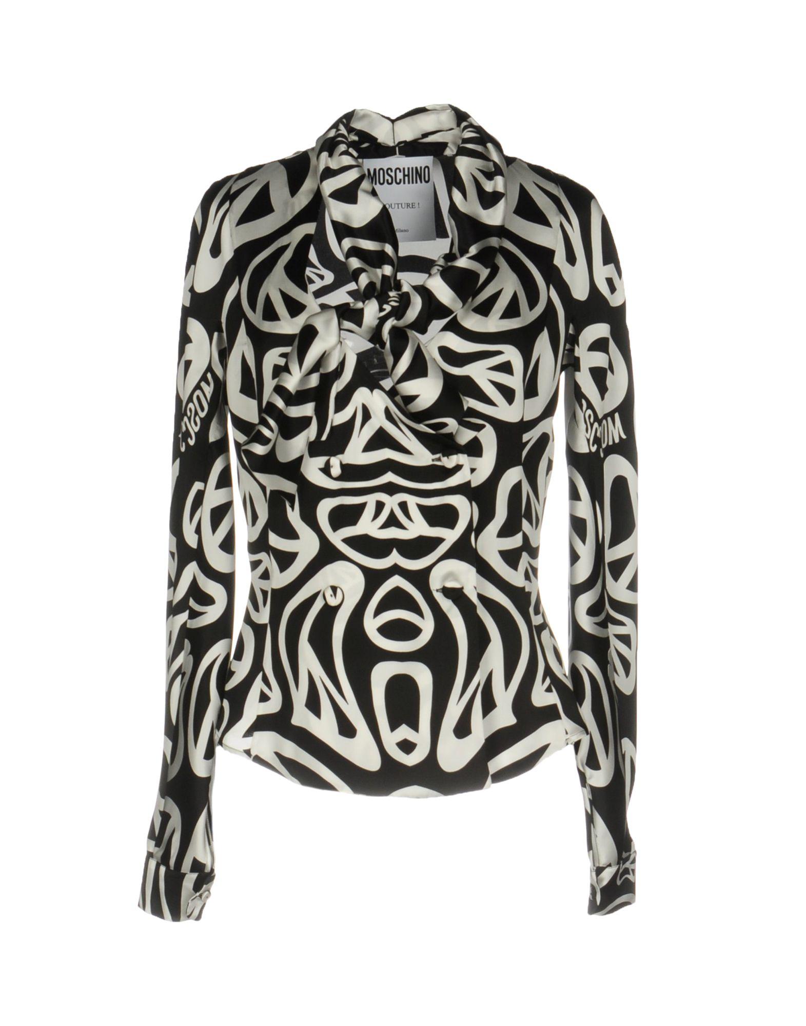 MOSCHINO COUTURE Pубашка moschino couture сандалии