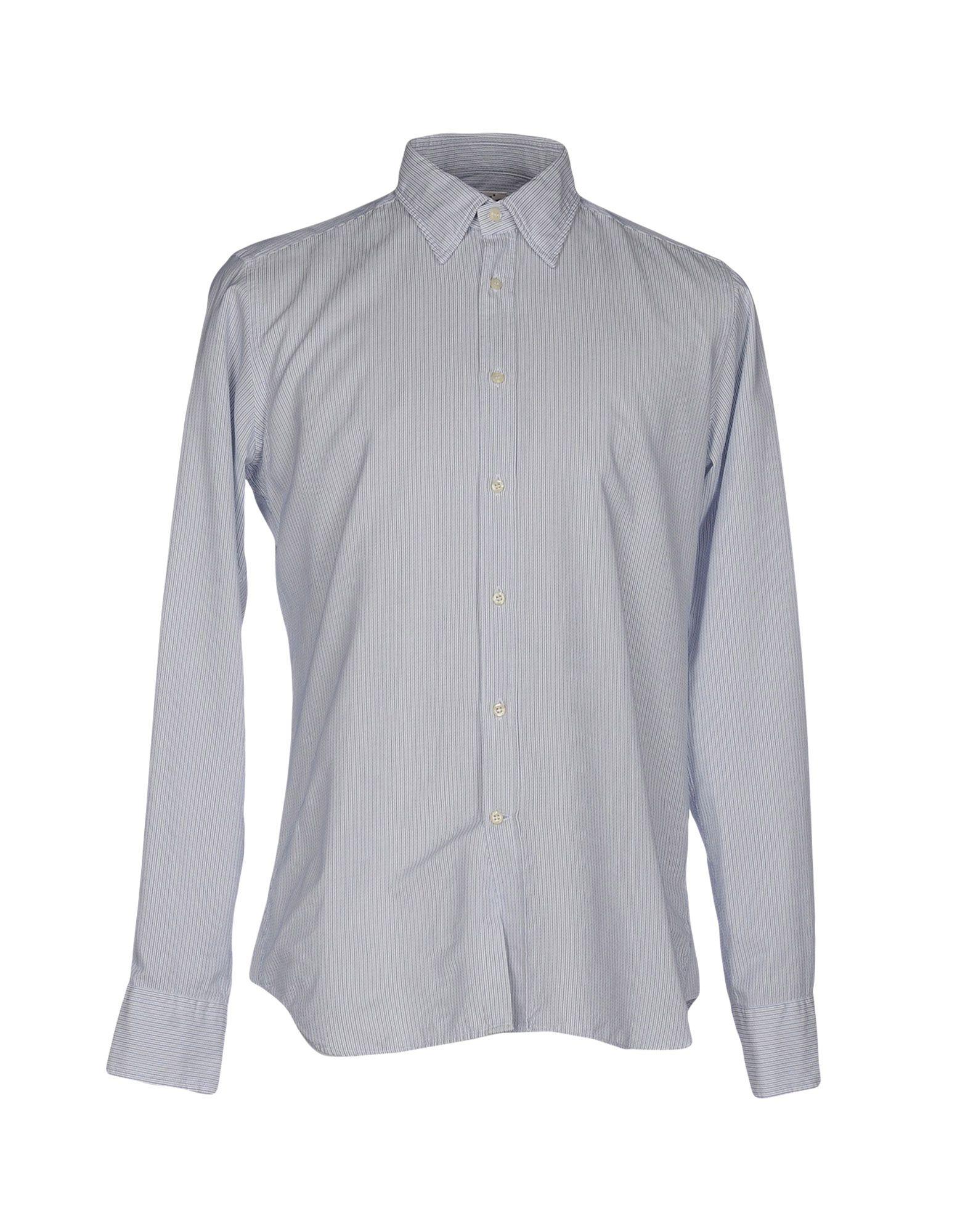BEVILACQUA Striped Shirt in Blue