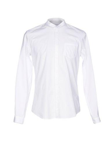 Фото - Pубашка от INDIVIDUAL белого цвета