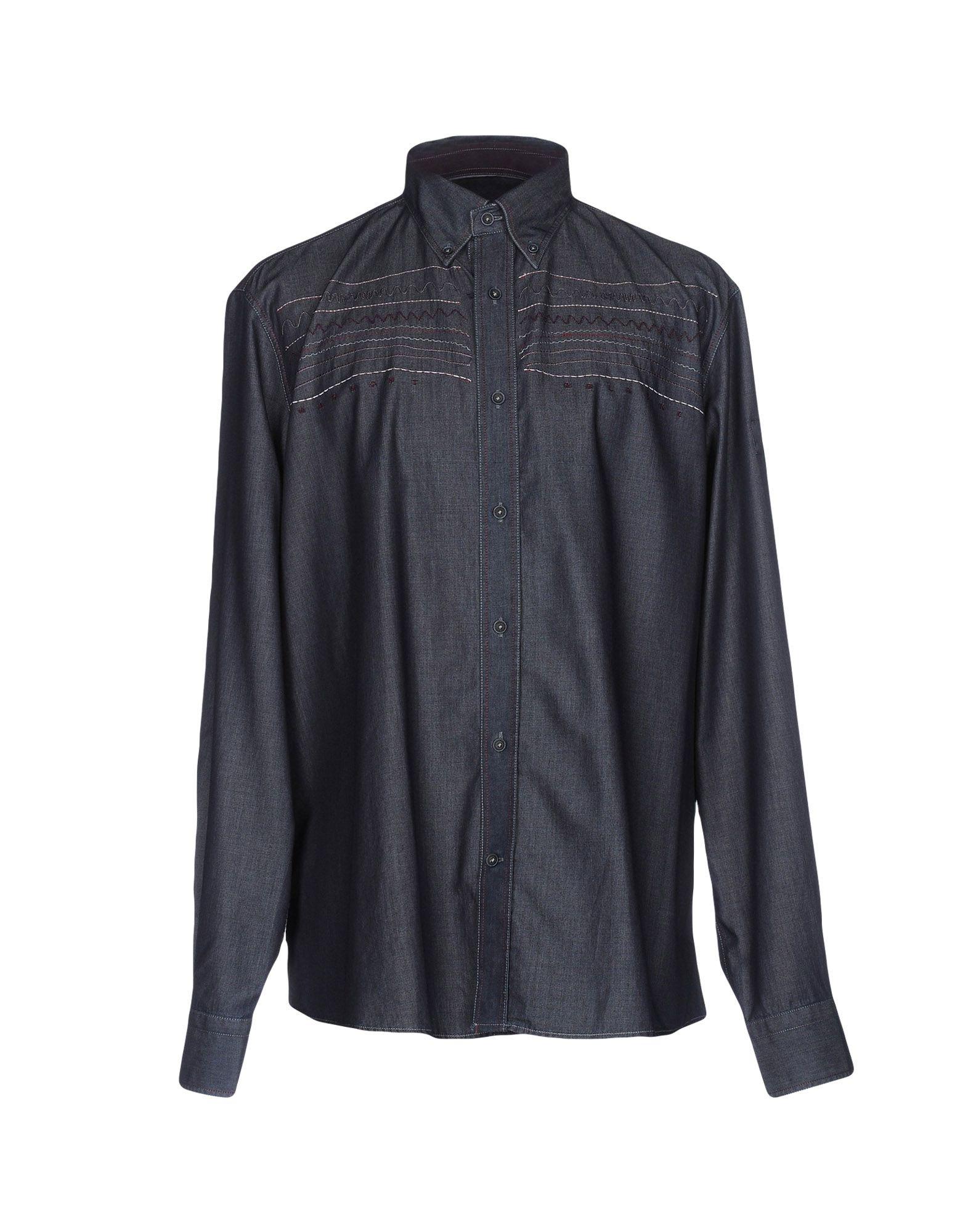 HARMONT&BLAINE Herren Hemd Farbe Dunkelblau Größe 8