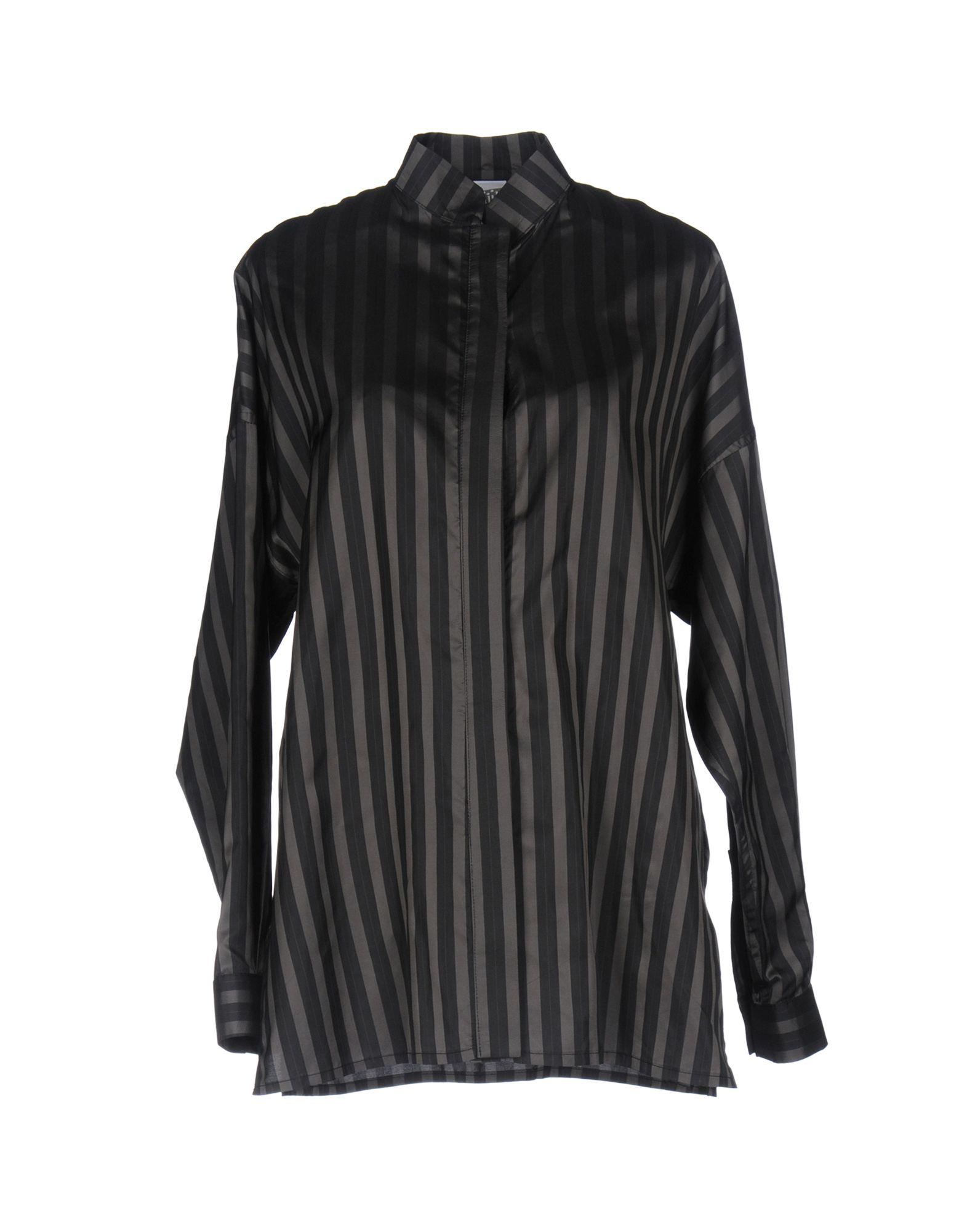 《送料無料》JIJIL レディース シャツ ブラック 38 キュプラ 100%