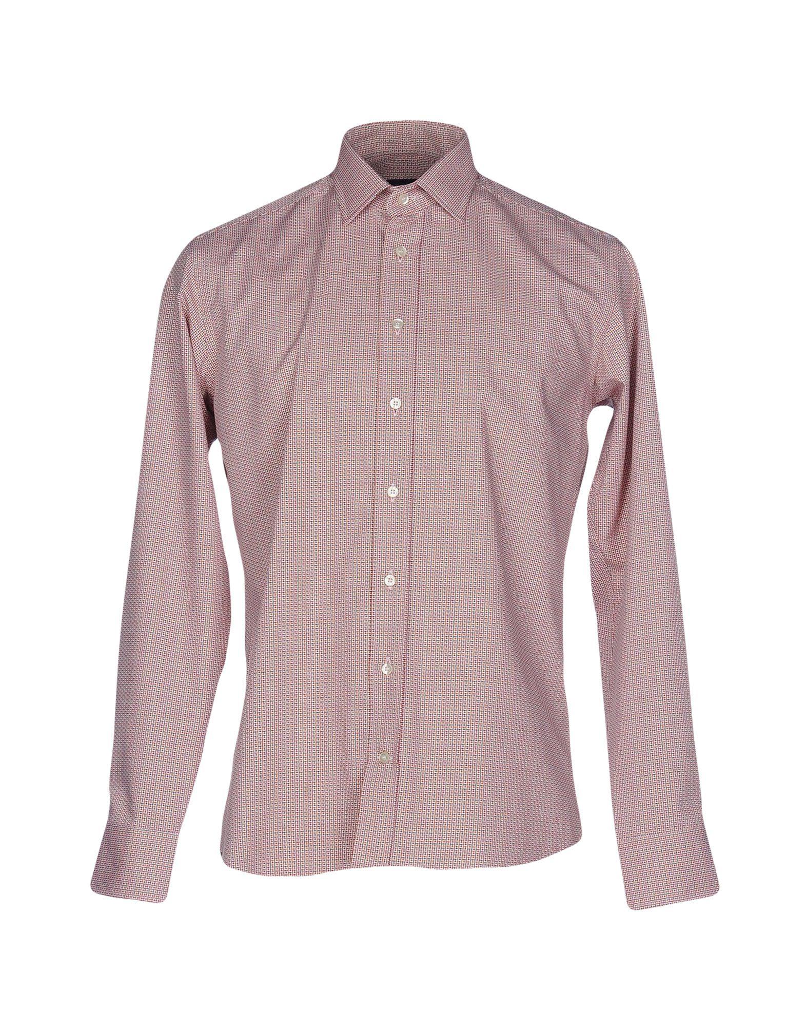 ETRO Herren Hemd Farbe Rostrot Größe 2