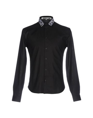 McQ Alexander McQueen メンズ シャツ ブラック 48 コットン 100%