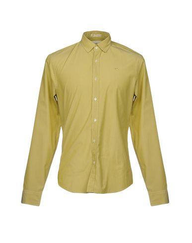 Купить Pубашка кислотно-зеленого цвета