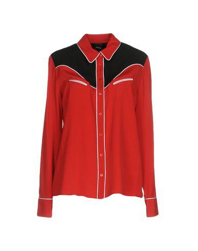 Фото - Pубашка красного цвета