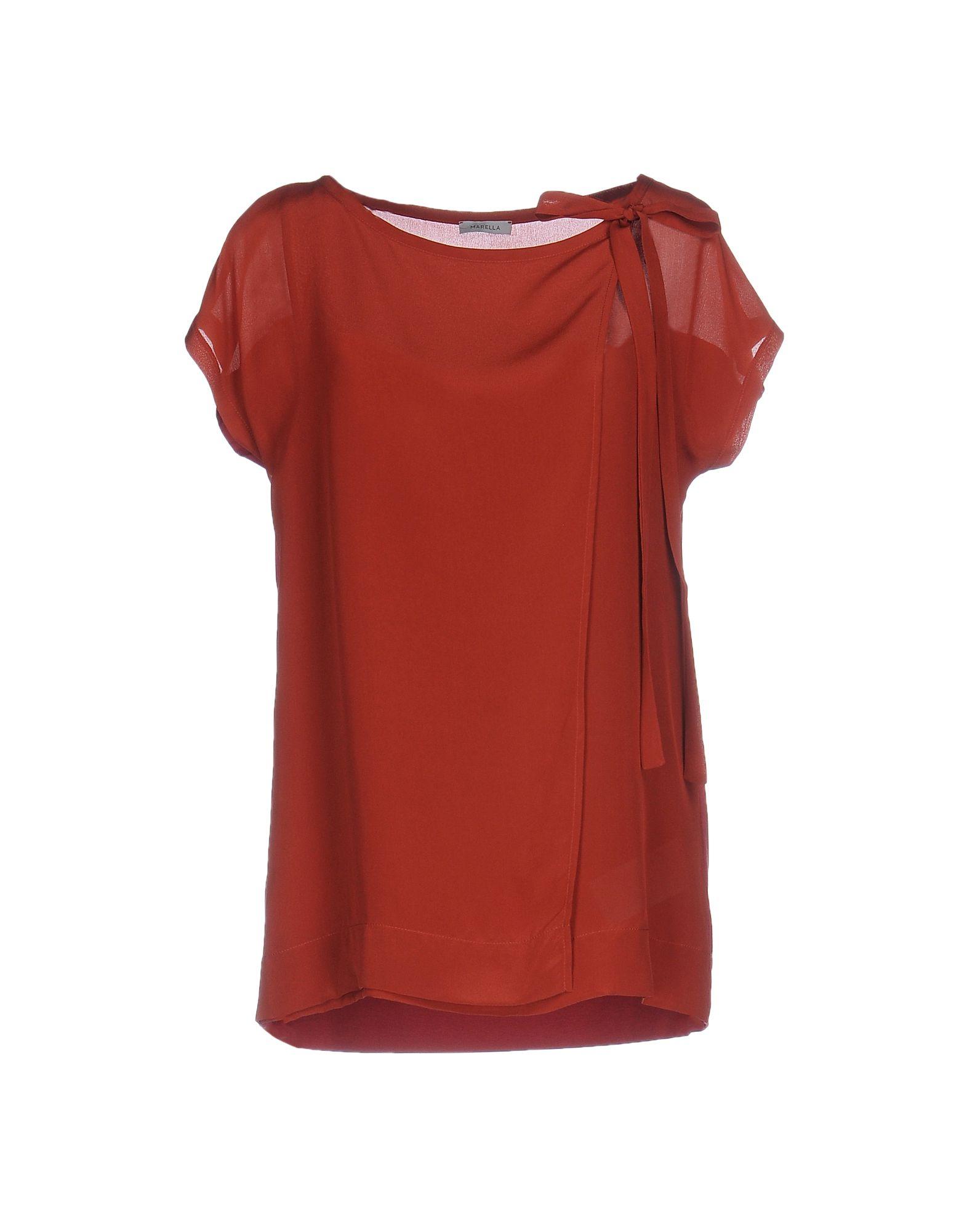 цена MARELLA Блузка онлайн в 2017 году