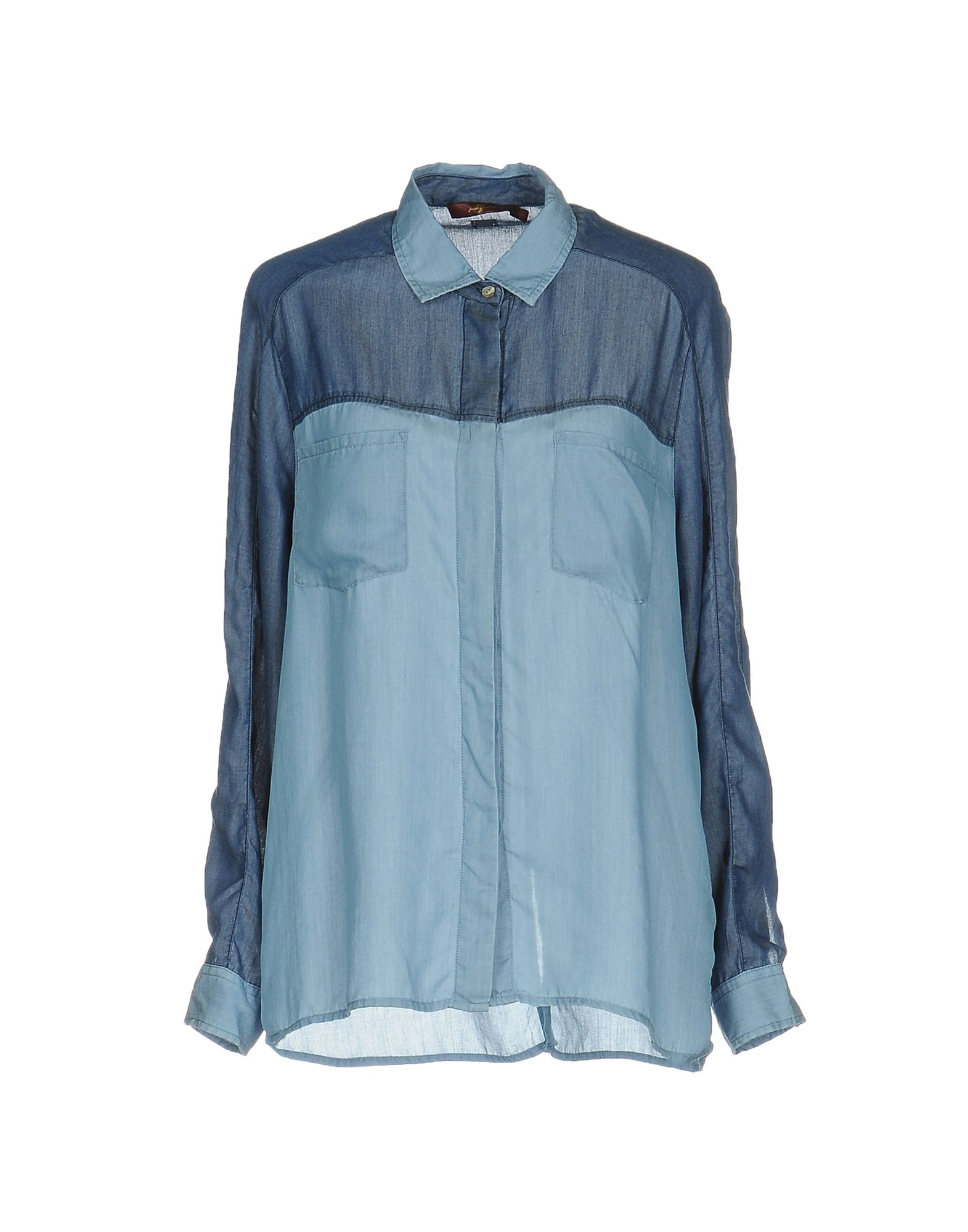 купить 7 FOR ALL MANKIND Pубашка по цене 3450 рублей
