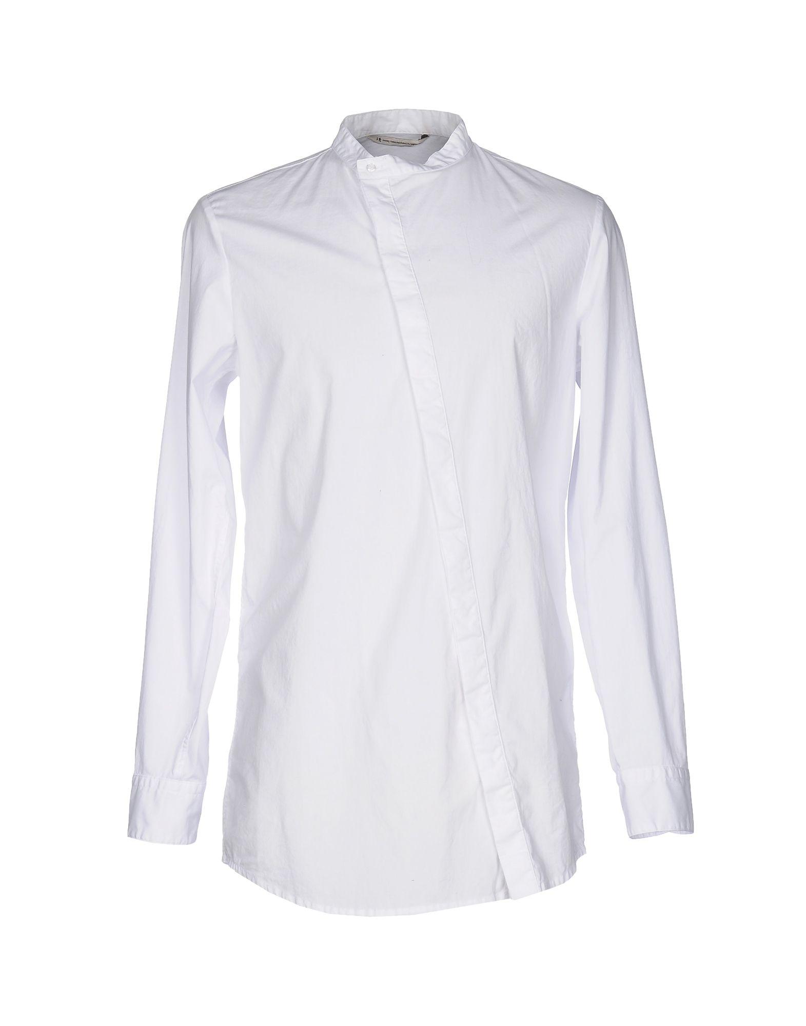 メンズ NOVEMB3R シャツ ホワイト