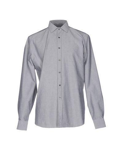BAGUTTA メンズ シャツ グレー XL コットン 100%