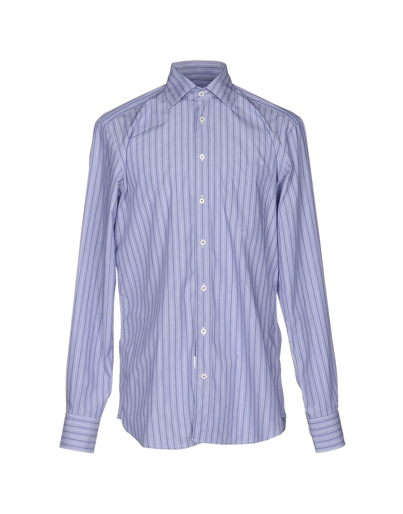 《送料無料》VAN LAACK メンズ シャツ ブルー 39 コットン 100%