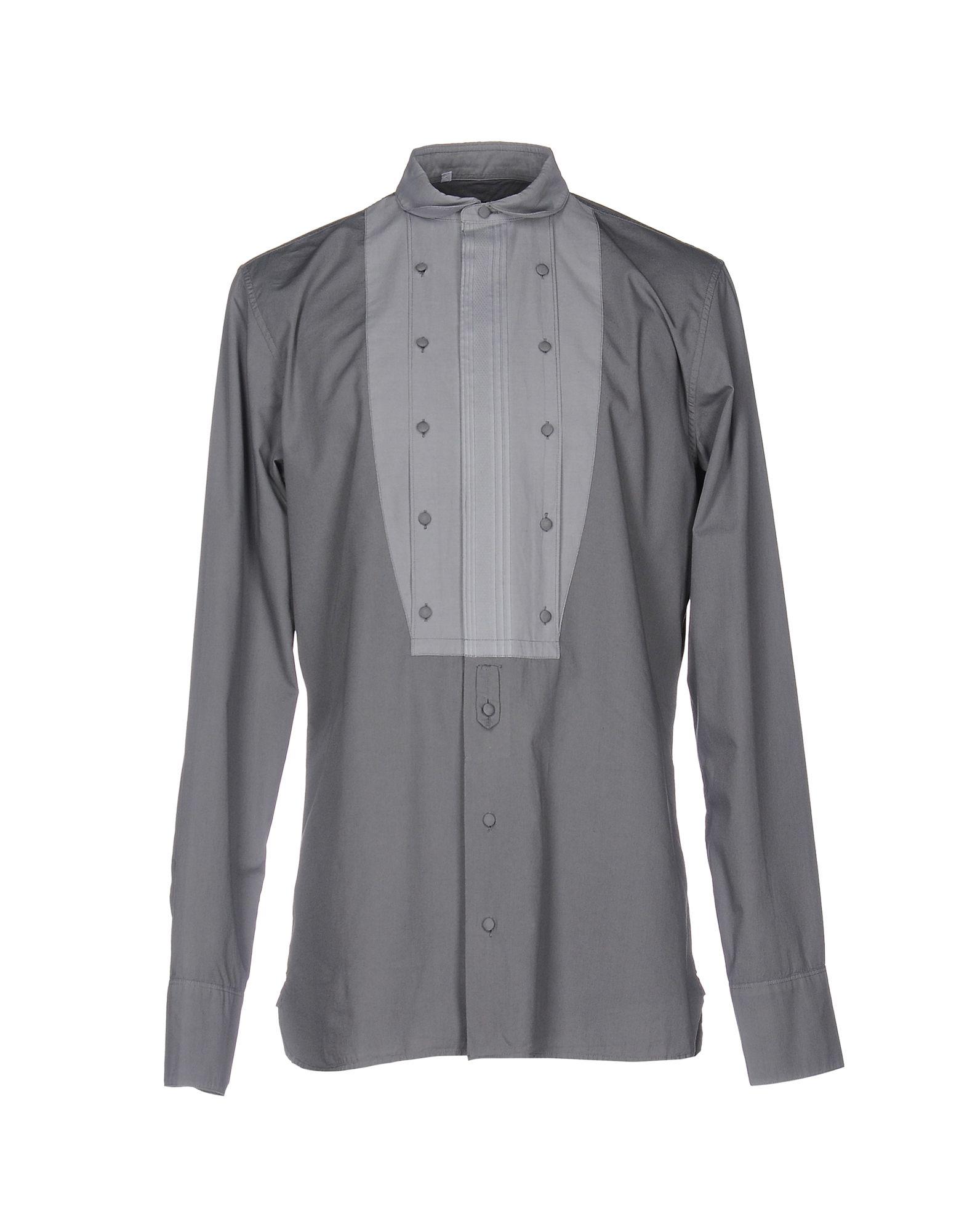 DOLCE & GABBANA Herren Hemd Farbe Grau Größe 6