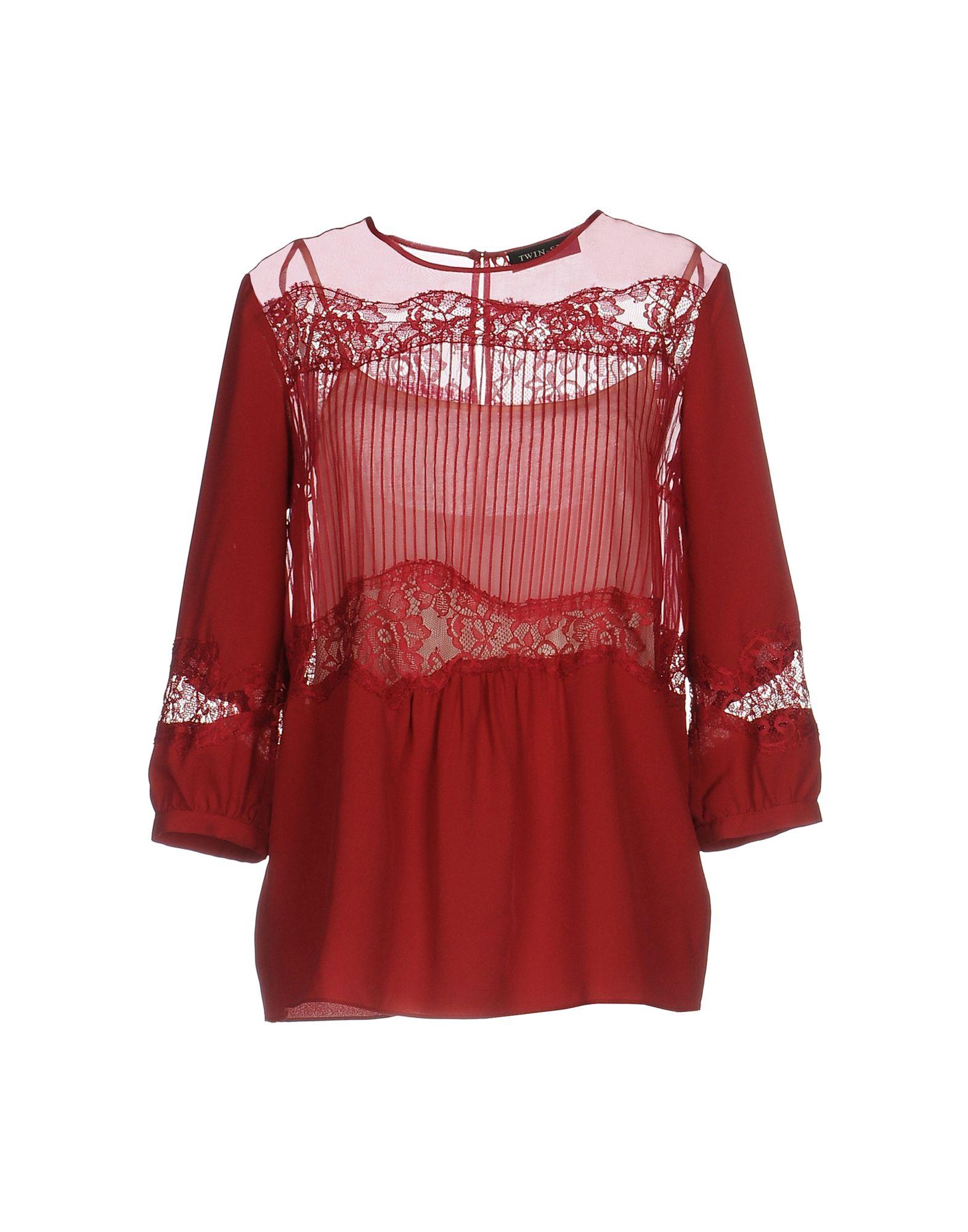 TWIN-SET Simona Barbieri Блузка twin set блузка комплект twin set p29270 2buy серый l