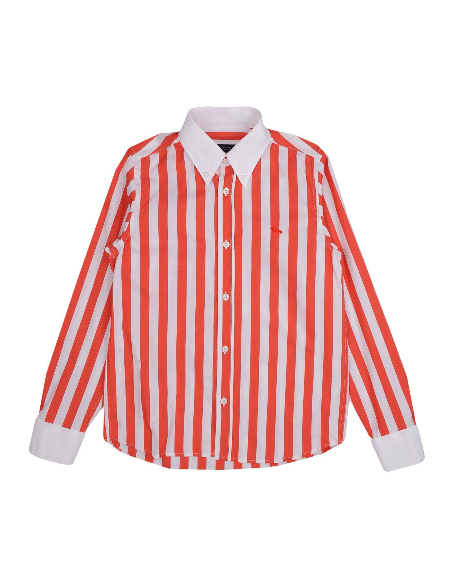 HARMONT&BLAINE Jungen 9-16 jahre Hemd Farbe Rot Größe 6