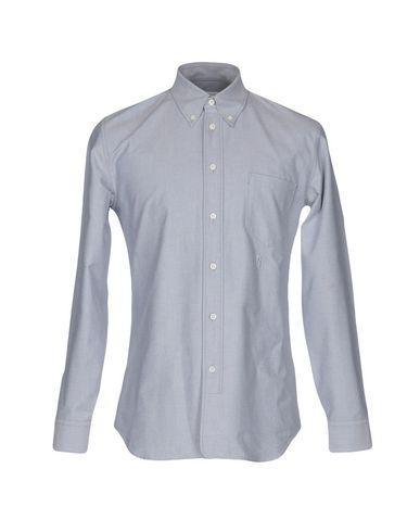 Фото - Pубашка серого цвета