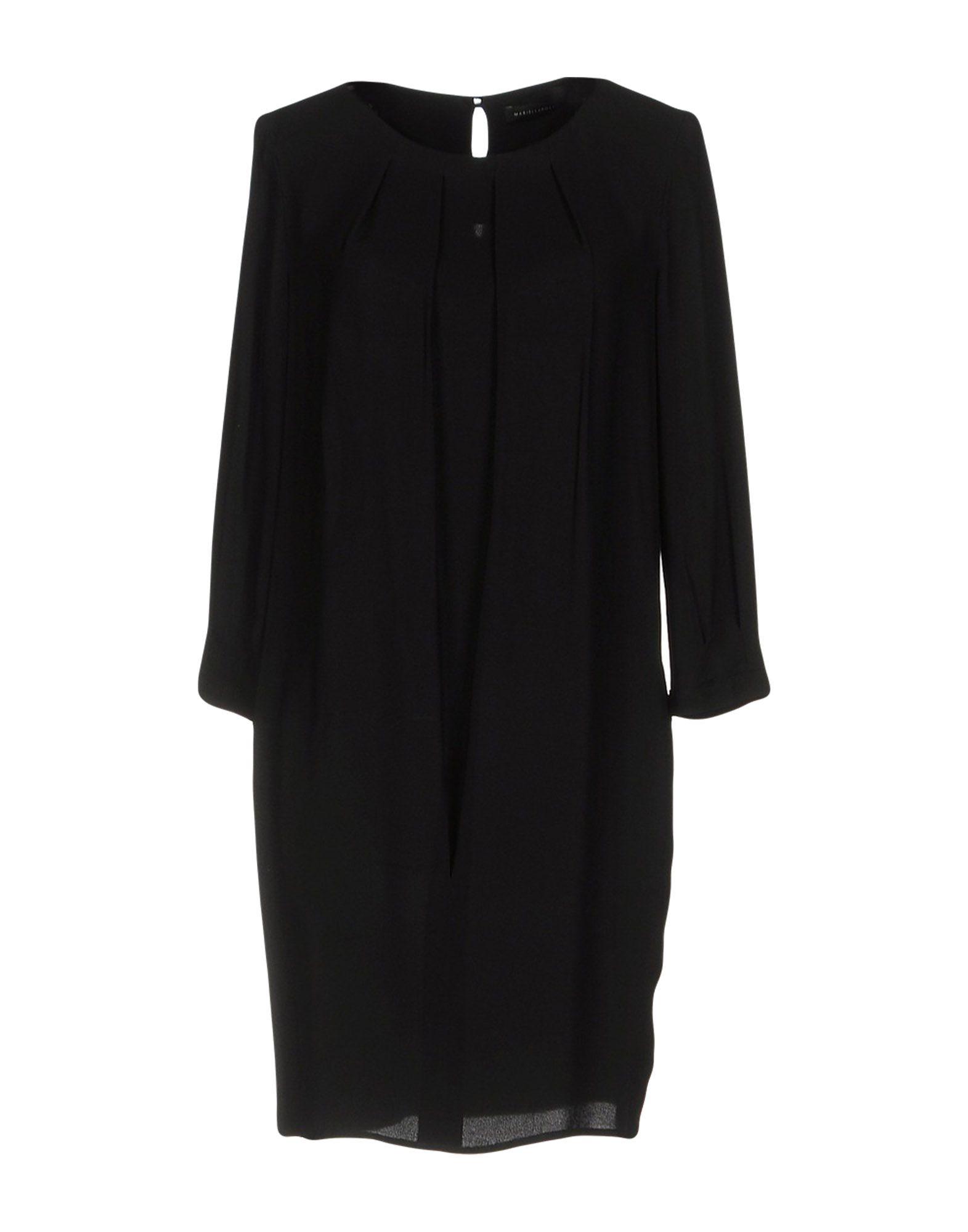 MARIELLA ROSATI Короткое платье кастрюля с крышкой agness с матовой вставкой page 8