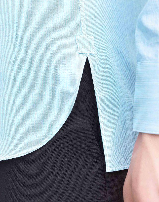 LANVIN MANDARIN COLLAR SHIRT Shirt U b