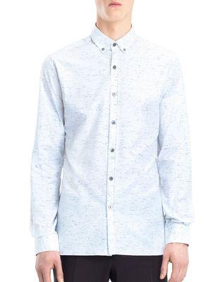 LANVIN CHALK TWILL SHIRT Shirt U f