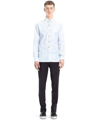 LANVIN CHALK TWILL SHIRT Shirt U r