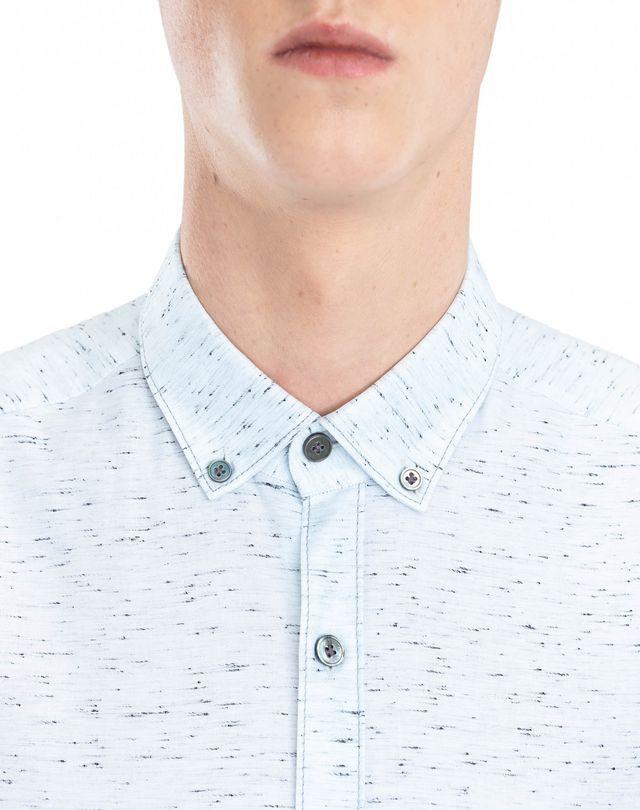 LANVIN CHALK TWILL SHIRT Shirt U a