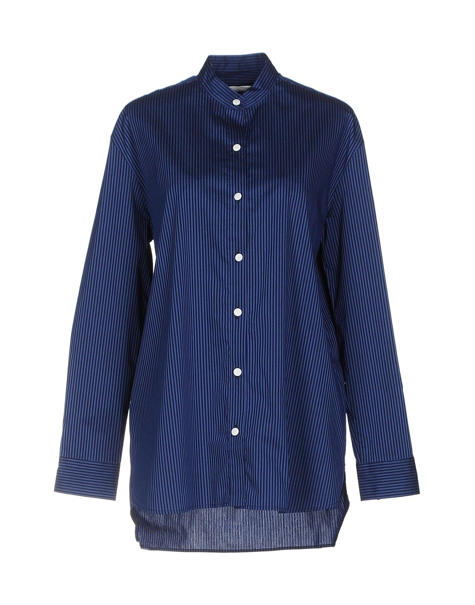 ATEA OCEANIE Striped Shirt in Blue