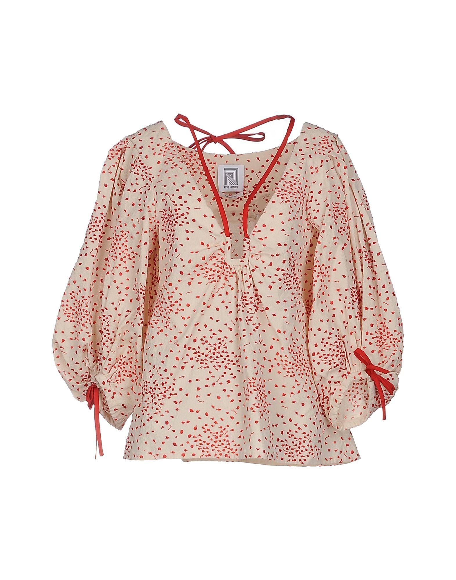 ROSIE ASSOULIN Блузка rosie assoulin pубашка