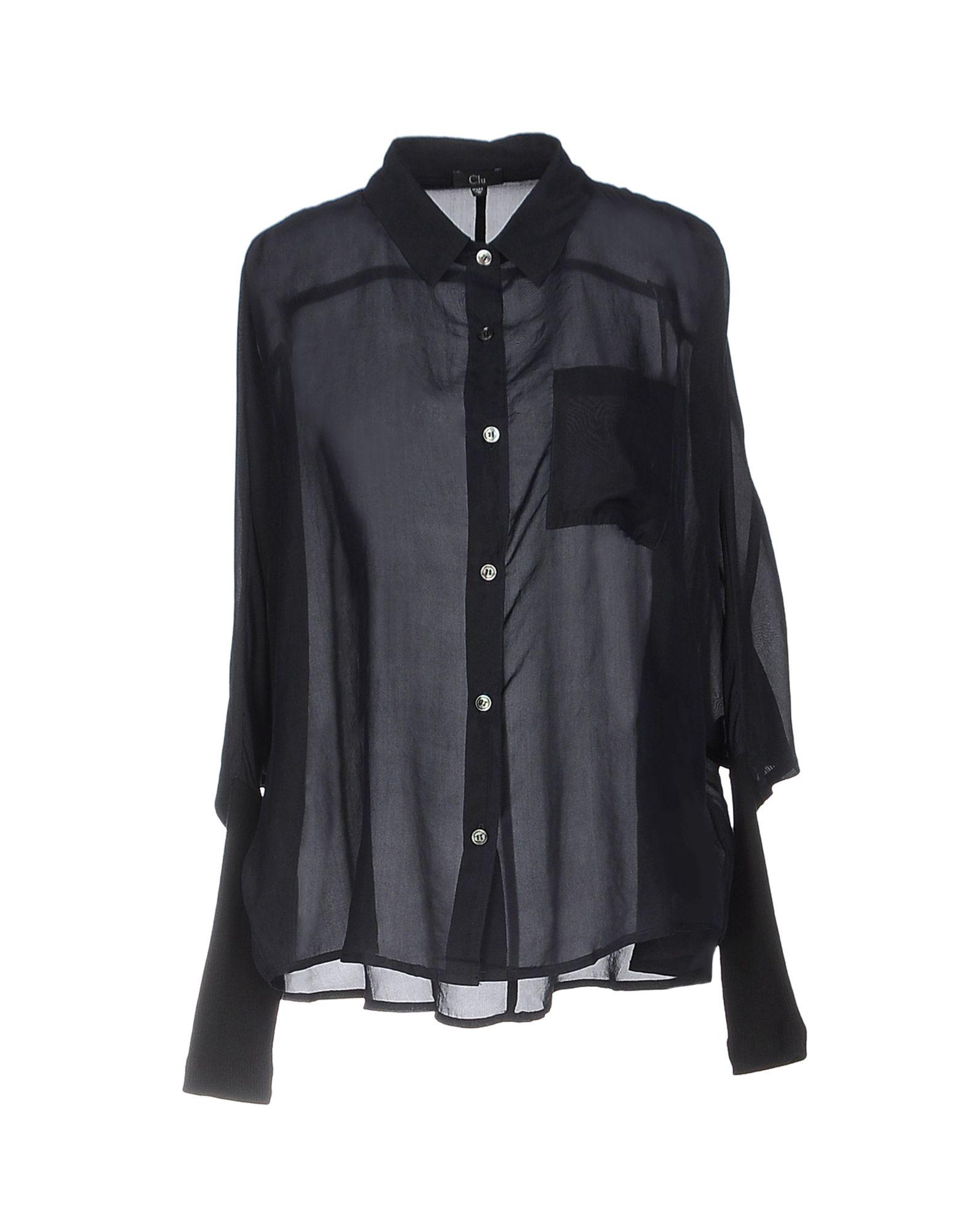 CLU Pубашка y clu блуза для девочки yb8308 разноцветный y clu