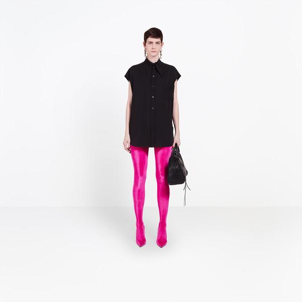 BALENCIAGA shirts Woman Sleeveless Scarf Shirt g