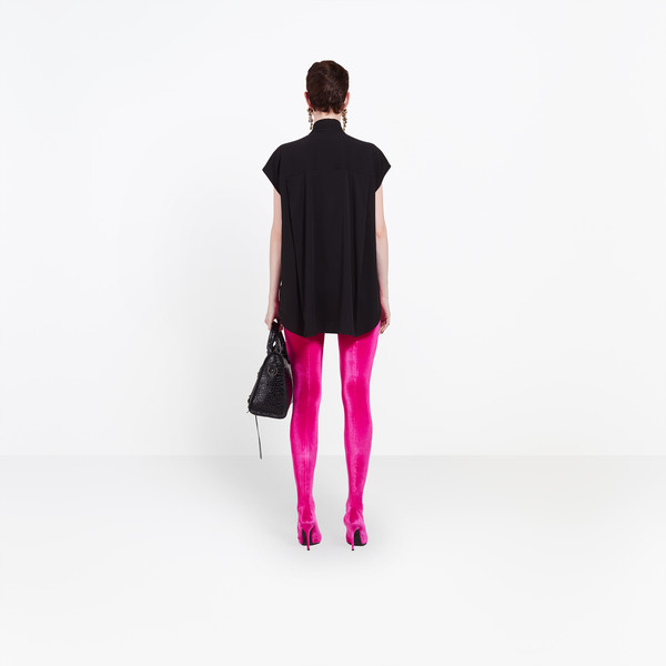 BALENCIAGA shirts Woman Sleeveless Scarf Shirt h
