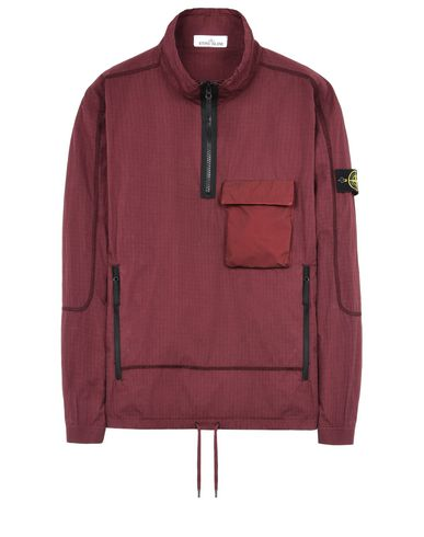 STONE ISLAND OVER SHIRT 115J1 SI HOUSE CHECK TELA COTONE NYLON