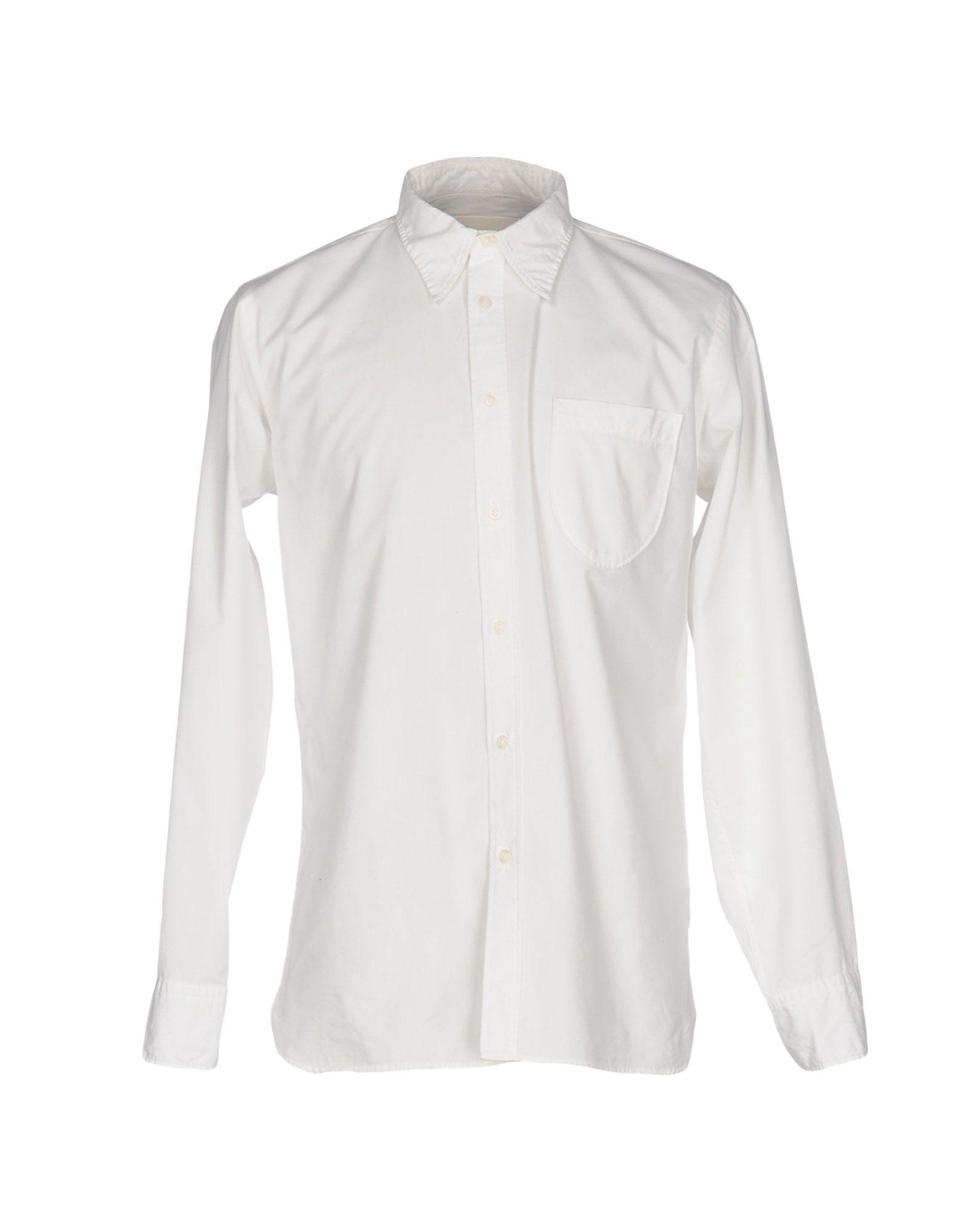 《送料無料》UNIVERSAL WORKS メンズ シャツ アイボリー S コットン 100%